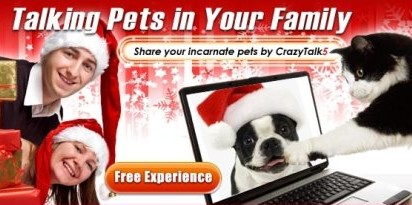 RSPCA Using Crazy Talking Pets for Christmas