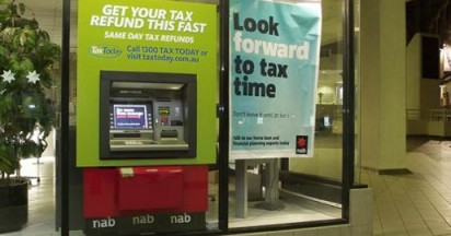 Tax Today on Sydney ATMS