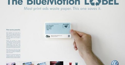 Volkswagen Bluemotion Label