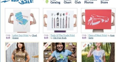 Threadless T-Shirt Fashion Site