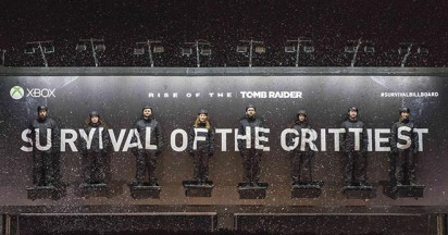 Tomb Raider Survival Billboard wins again