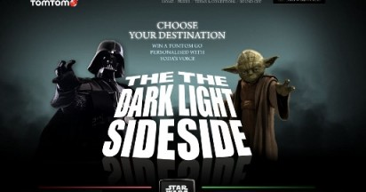 TomTom Choose Your Destination with Star Wars Voices
