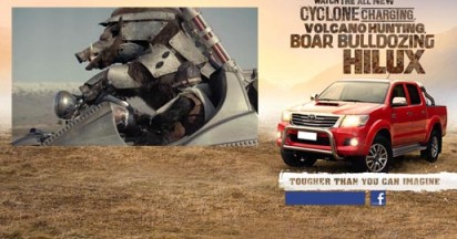 Toyota Hilux Tougher Than You Can Imagine