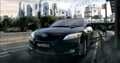 Toyota Camry The Car That Reads The Road