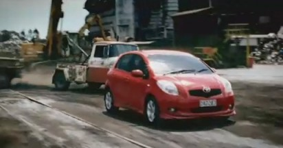 Toyota Yaris Takes On Towies