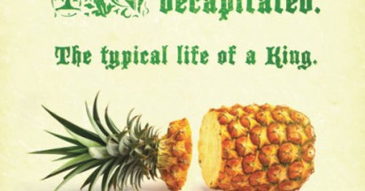 Tropical Pineapples King of Fruit