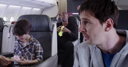 Turkish Airlines Kobe vs Messi Legends on Board