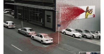 Kill Bill Blood Splatter in Auckland