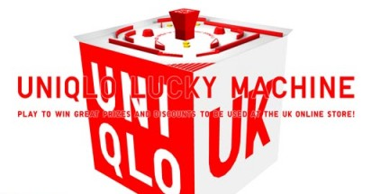 Uniqlo Lucky Machine