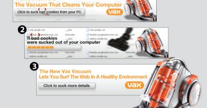 VAX Banner that Sucks