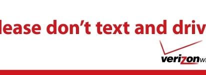Verizon Wireless Don't Text and Drive