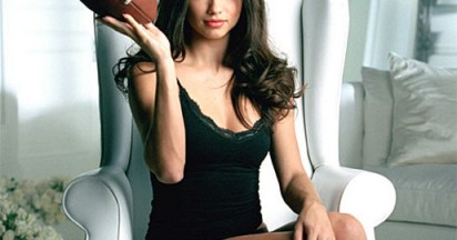Victoria's Secret Adriana Lima at Super Bowl