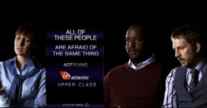 Virgin Atlantic Upper Class Fears