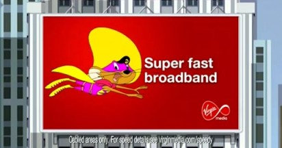 Virgin Media launches Speedy Gonzales