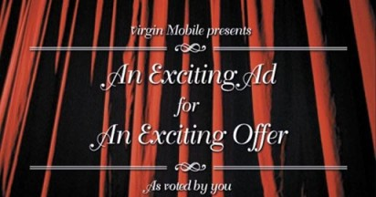 Virgin Mobile Exciting Ad For Exciting Offers