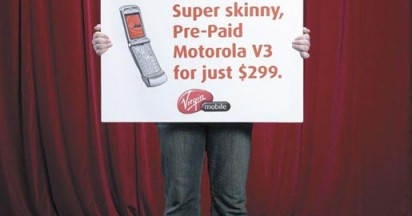 Virgin Mobile Russell Provokes Exciting Ads