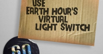 Virtual Light Switch for Earth Hour