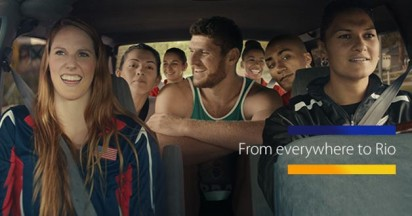 Visa Carpool to Rio Olympics
