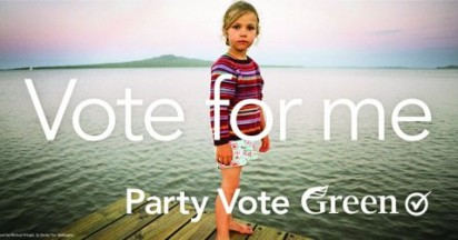 Green Party Vote for Me in New Zealand