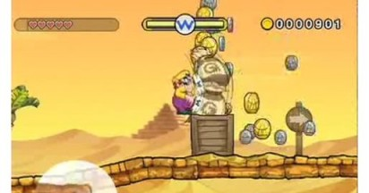 Wario Land Shake on YouTube