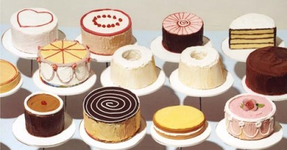 Google Turns 12 with a Cake by Thiebaud