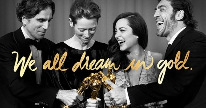 Academy Awards We All Dream in Gold