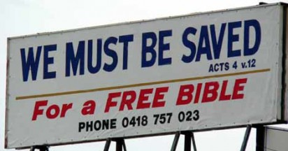 You Must Be Saved For A Bible