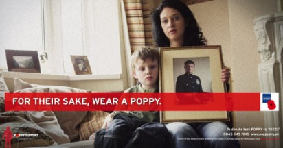 Wear a Poppy For Their Sake