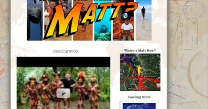 Where the hell is Matt in 2008?