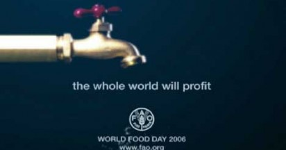 World Food Day In Tap Dripping Ad