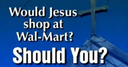 Union and Church Leaders Ask Would Jesus shop at Walmart?