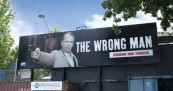 The Wrong Man Billboards