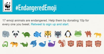 WWF Endangered Emoji