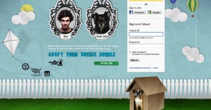 Adopt Your Doggie Double on Yahoo
