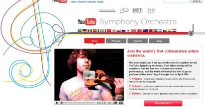 YouTube Symphony Orchestra Auditions Online