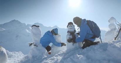 Zurich Snowman Insurance in the Mountains